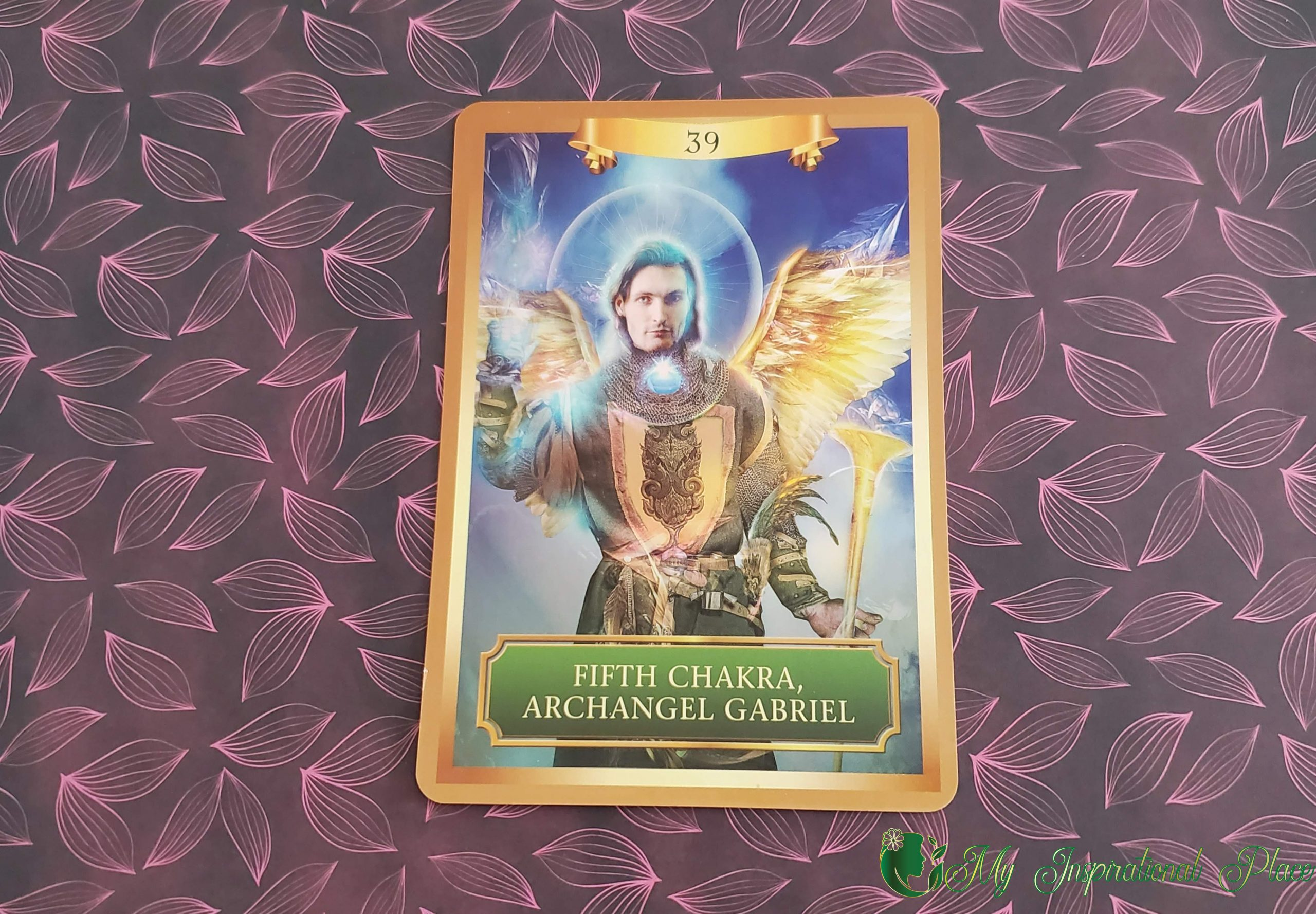 Card of the Day for April 1, 2020 – Fifth Chakra, Archangel Gabriel