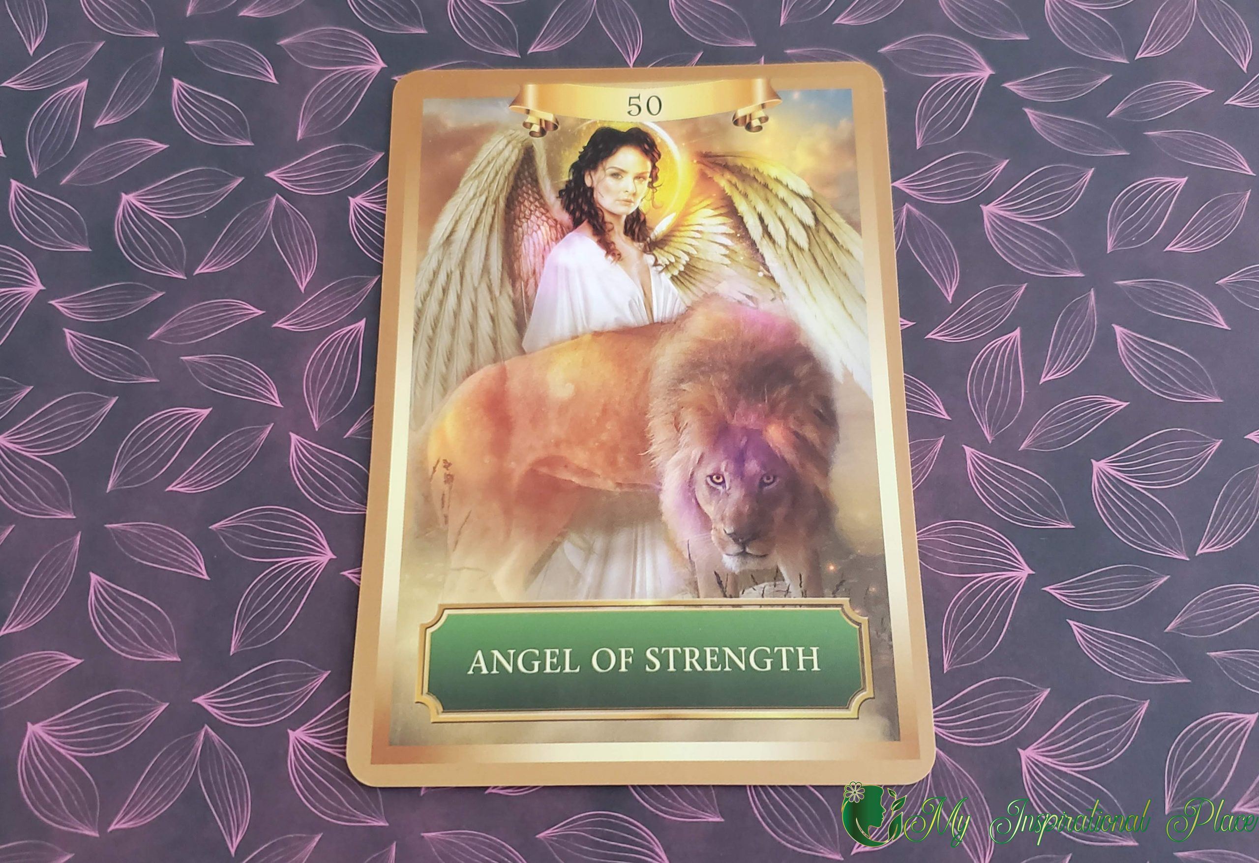 Card of the Day for April 14, 2020 – Angel of Strength