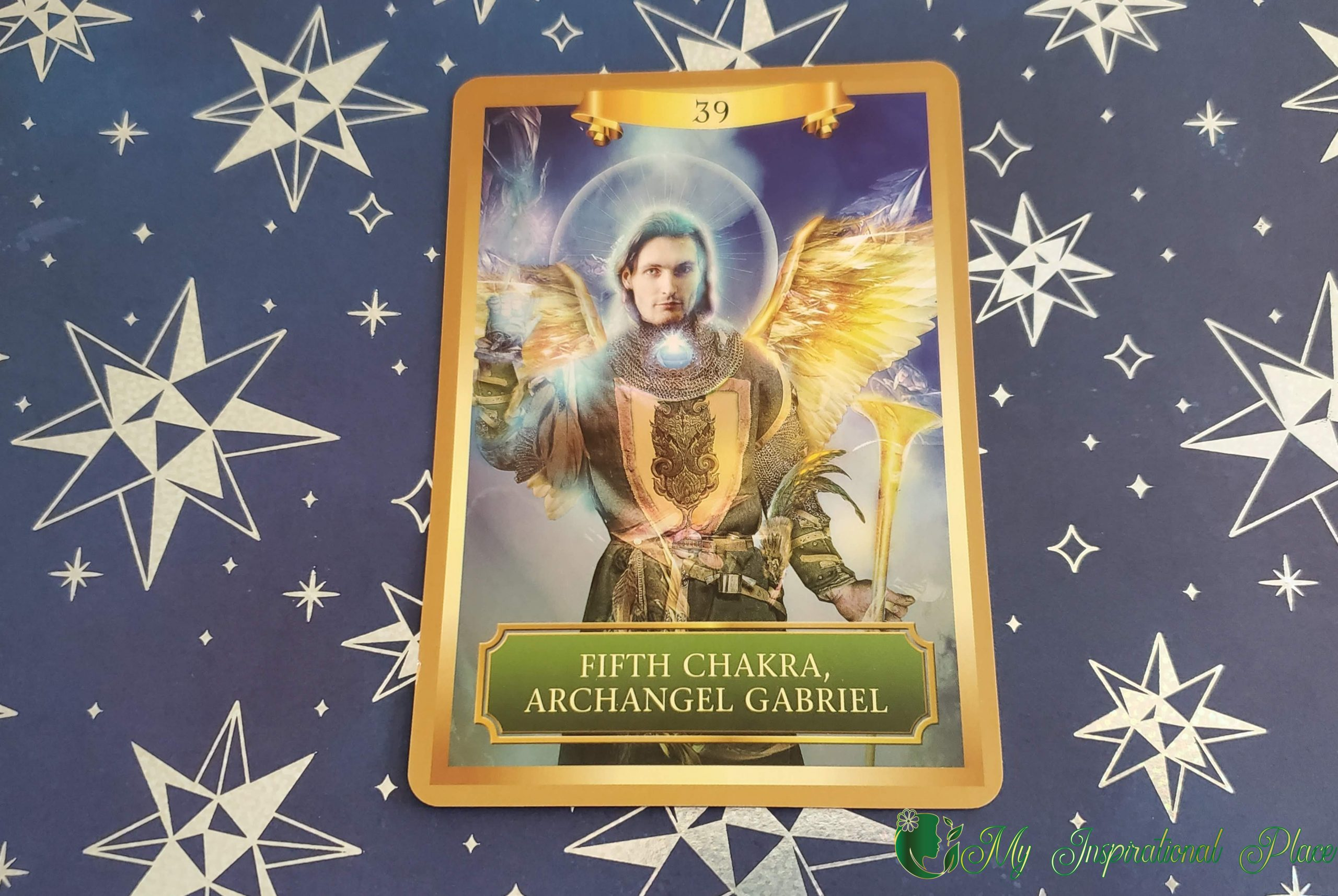 Card of the Day for April 15, 2020 – Fifth Chakra, Archangel Gabriel