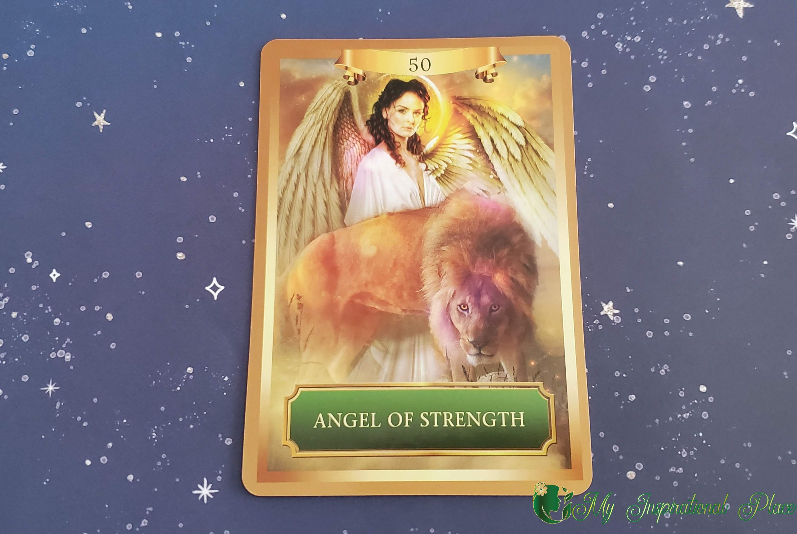 Card of the Day for April 19, 2020 – Angel of Strength